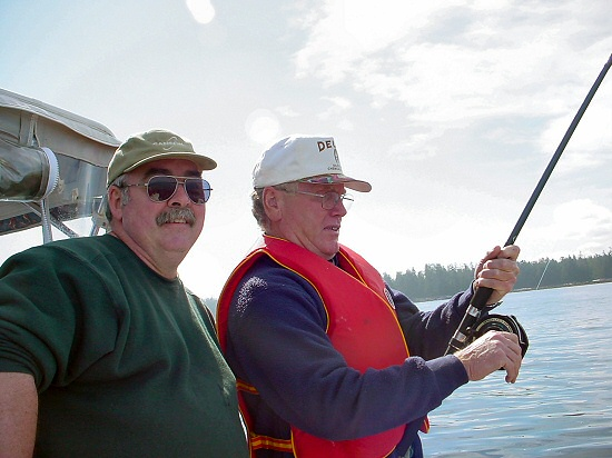 Your local Fishing Guide stands ready to help net your catch